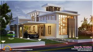 Contemporary House Plan Sq Feet Contemporary House Kerala Home Design Floor Plans Bedroom