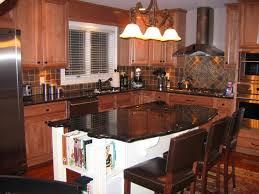 Kitchen Island With Black Granite Top Imposing Kitchen Islands With Seating For Small Kitchens With