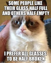 Broken Glasses Meme - grumpy cat meme imgflip