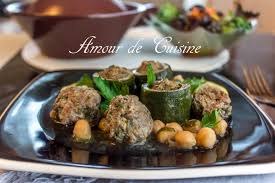 cuisine de courgettes dolma courgettes courgettes a la viande hachée amour de cuisine