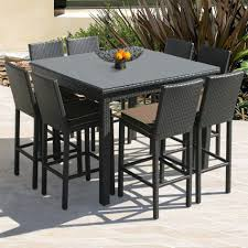 Outdoor Bar Patio Furniture Small Outdoor Bar Outdoor Furniture High Table And Chairs Small