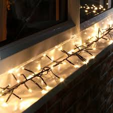 led cer awning lights outdoor icicle lights warm white homebase outdoor designs