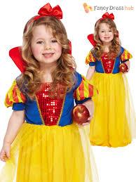 girls toddler snow princess costume kids fairytale fancy dress