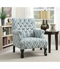 Blue And White Accent Chair Accent Chair Vintage Blue Accent Chairs 902406 Coaster Furniture