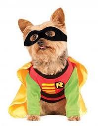 Spirit Halloween Pet Costumes Robin Pet Costume Spirit Halloween Superhero