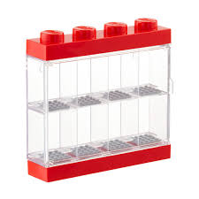 merchandise display case lego minifigure display case the container store