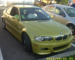 Bmw M3 Yellow Green - file bmw e46 m3 jpg wikimedia commons