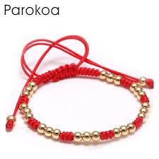 gold string bracelet images Hot sale designer gold ladies bracelet with red string bluk sale jpg