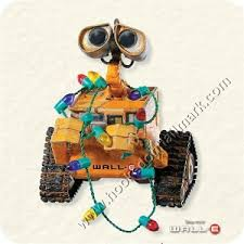 2008 deck the planet wall e hallmark magic ornament at hooked on
