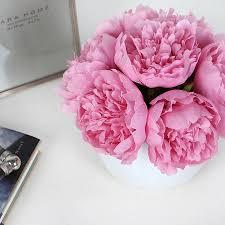 Peony Arrangement Pink Peony Flower Arrangement U2013 G Home Collection
