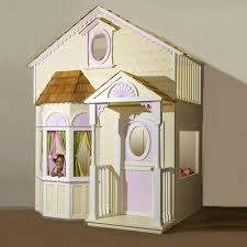 Playhouse Bunk Bed Playhouse Loft Bed And Luxury Baby Cribs In Baby