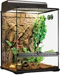 amazon com exo terra glass terrarium 18 by 18 by 24 inch pet