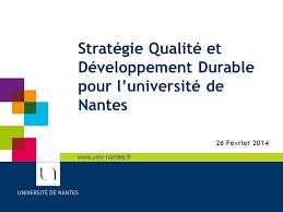 bureau de transcription nantes sommaire définitions qualité et développement durable pour l