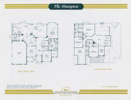 custom home builders floor plans the hampton model 4 574 sq ft crestview builders floor plan