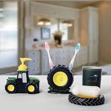 kids bathroom decor sets ideas image pcsset kid child boy baby cartoon bathroom accessories cute tractor accessory set