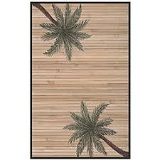 Bamboo Outdoor Rug Hand Woven Palm Tree Rayon From Bamboo Rug 5 U0027 X 8 U0027 Backyard