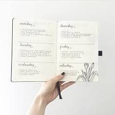 daily layout bullet journal 24 minimalist bullet journal layouts that ll get you hard