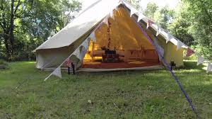 Platform Tents Baylily Bell Tents A Big Thank You Youtube
