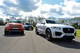 jaguar jeep jaguar f pace vs land rover discovery sport vs bmw x3 auto express