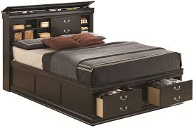 supple black wood queen size bed coaster q black queen size wood