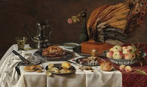 17th century cuisine peacock pie food and society 17th century and flemish