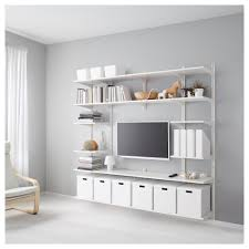 Tockarp Wall Cabinet With Glass by Algot Wall Upright Shelves White Ikea Algot Shelving And Shelves