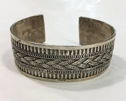 cuff bracelet from images Vintage_egyptian_silver_cuff_b JPG