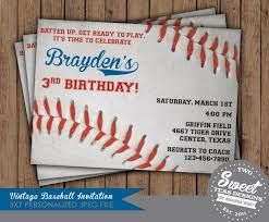 mlb 2015 baseball party invitation birthday party digital cards