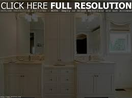 Bathroom Vanities With Matching Linen Cabinets Bathroom Vanity Matching Linen Tower Best Bathroom Decoration