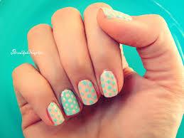 pastel color nails pastel color block nail art polished nails