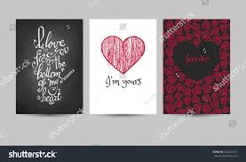 cards for marriage set cards marriage wedding valentines day stock vector 444831301