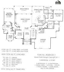 2 Floor House Plans 5 Bedroom Single Story House Plans Mattress Brilliant 3 Bath