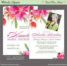 sle funeral programs wording doc 500351 funeral invitation card funeral invitation