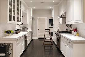 Wide Galley Kitchen Kitchen Galley Kitchen Type With Classic Kitchen Cabinet With