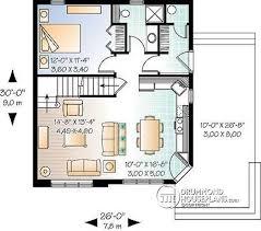 cottage plans designs mezzanine plans eplans cottage house plan level mezzanine