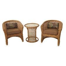 allen roth patio furniture blaney wicker patio conversation chair