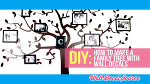 do it yourself how to make a family tree wall decal with pictures do it yourself how to make a family tree wall decal with pictures youtube