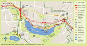 Trans Canada Highway Map by Directions Burnaby Lake Park Association