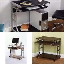 Computer Desk On Wheels Computer Desk Wheels Ebay