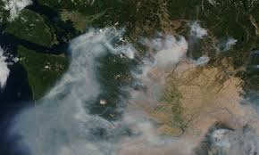Satellite Map Of Washington State by 2015 Washington Wildfires Wikipedia
