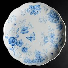 butterfly platter lenox butterfly meadow toile blue at replacements ltd