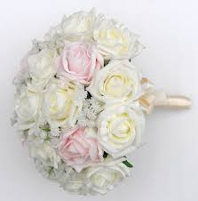 artificial wedding bouquets bridesmaids artificial wedding bouquet in mixed roses with