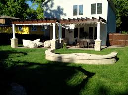 Pergola With Fire Pit by Pergolas U2013 Outdoor Living With Archadeck Of Chicagoland