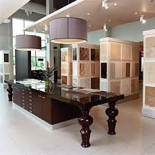 kitchen showroom ideas island bench with storage but also bench to sit at showroom ideas