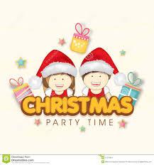 invitation card cartoon design invitation card design christmas party fun for christmas