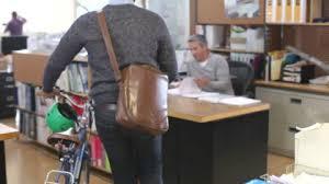 bureau collectif bureau femme d affaires vélo hd stock 165 318 694