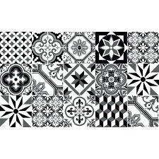 tapis cuisine noir vinyle carreaux de ciment tapis cuisine noir tapis vinyle carreaux
