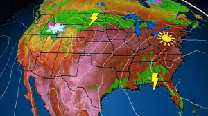 Weather Map Usa by Usa National Forecast The Weather Channel Current Weather Map