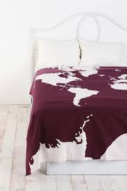 themed bed sheets bedroom captivating white travel themed bedroom with purple map