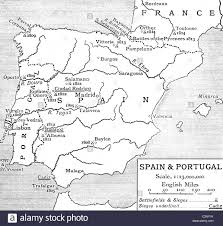 Spain Portugal Map by Map Of Spain And Portugal At The Time Of The Peninsular War From